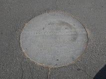 Tablette d'au sol de défilé de Carty, terrain communal de Boston, Boston, le Massachusetts, Etats-Unis Photos stock