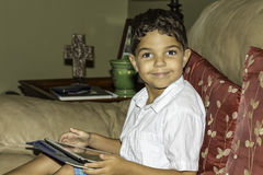 Tablette d'enfant Photographie stock