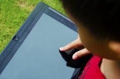 Tablette d'enfants photos libres de droits