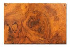 Tablette de bois inextricable photo libre de droits