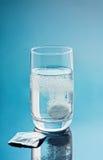 Tablette de calmeur en glace Image libre de droits