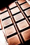 Tablette de chocolat Images libres de droits