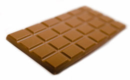 Tablette de chocolat Photo stock