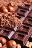 Tablette de chocolat Photo libre de droits