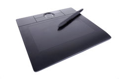 Tablette de crayon lecteur Photos stock