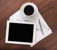 Tablette de Digitals Photo libre de droits