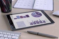 Tablette de Digitals Images libres de droits