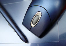 Tablette de Digitals Photographie stock
