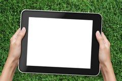 Tablette de fixation de main Photo libre de droits