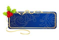Tablette de Noël Images libres de droits