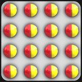 Tablette de pillule illustration de vecteur