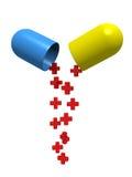 tablette de santé Photo libre de droits