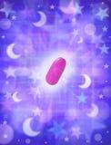 tablette de sommeil de pillule photo stock