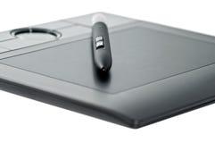 tablette digitale noire Image libre de droits