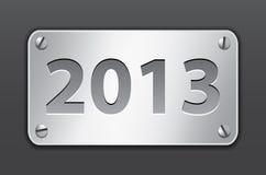 Tablette für 2013 Jahr Lizenzfreie Stockfotos