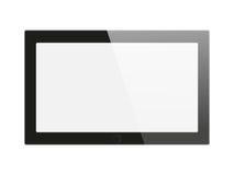 Tablette générique noire Photographie stock libre de droits