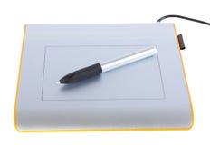 Tablette graphique images libres de droits