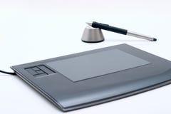 Tablette graphique Photographie stock libre de droits