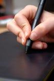 Tablette graphique Image libre de droits