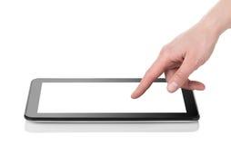 Tablette noire photographie stock libre de droits