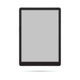 Tablette noire Photo libre de droits