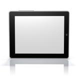 Tablette PC-Bildschirmseite (Klipp-Pfad-Bildschirm u. Nachricht) Lizenzfreie Stockbilder
