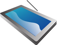 Tablette-PC-Notizbuch illustratio Stockfoto