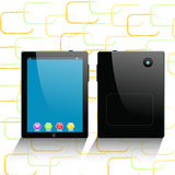 Tablettecomputer und -Handy Stockfoto