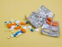 Tabletten. Stock Afbeeldingen