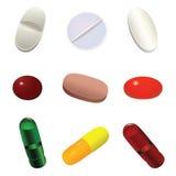 Tabletten. Royalty-vrije Stock Fotografie