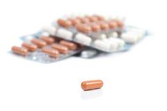 Tabletten royalty-vrije stock foto's