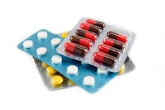 Tabletten Stock Fotografie