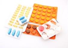 Tabletten stockfotos