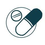 Tabletten en Drugs Royalty-vrije Stock Foto's