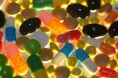 Tabletten geneeskrachtige tablet Royalty-vrije Stock Afbeeldingen