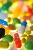 Tabletten geneeskrachtige tablet Stock Afbeeldingen