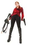 Tabletten-Luft-Gewehr und Pistole Stockfotos