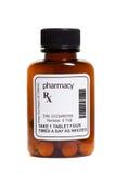Tablettenfläschchen Stockfoto