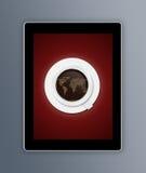 Tablettenkaffee Lizenzfreies Stockfoto