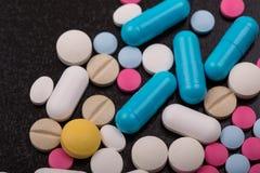 Tablettenpillen Stock Afbeeldingen