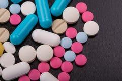 Tablettenpillen Stock Afbeelding