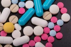 Tablettenpillen Royalty-vrije Stock Afbeelding