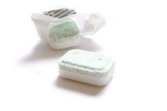 Tablettes de lave-vaisselle Photos libres de droits