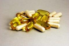 Tablettes en pillen Stock Afbeeldingen