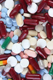 Tablettes et médecines Photographie stock