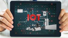 Tabletvertretungs-Roboterarm