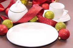 tableware рождества Стоковое Фото