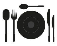 tableware ilustração do vetor