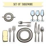 tableware Imagem de Stock Royalty Free