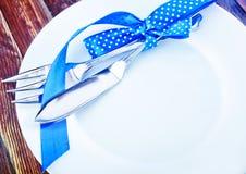 tableware photographie stock libre de droits